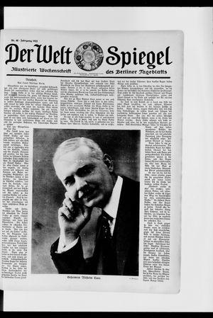 Berliner Tageblatt und Handels-Zeitung vom 26.11.1922