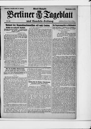 Berliner Tageblatt und Handels-Zeitung vom 07.12.1922