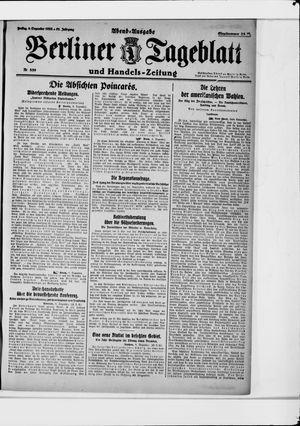 Berliner Tageblatt und Handels-Zeitung vom 08.12.1922