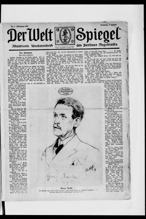 Berliner Tageblatt und Handels-Zeitung vom 07.01.1923