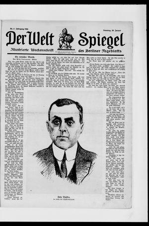 Berliner Tageblatt und Handels-Zeitung vom 28.01.1923