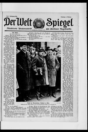 Berliner Tageblatt und Handels-Zeitung vom 04.02.1923