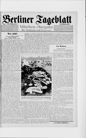 Berliner Tageblatt und Handels-Zeitung vom 14.02.1923