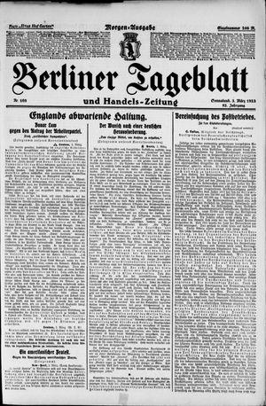 Berliner Tageblatt und Handels-Zeitung on Mar 3, 1923