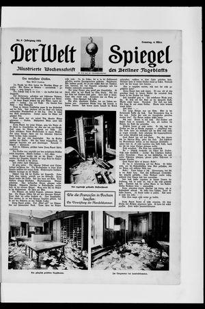 Berliner Tageblatt und Handels-Zeitung vom 04.03.1923
