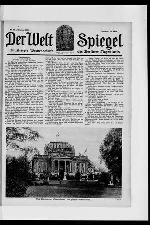 Berliner Tageblatt und Handels-Zeitung vom 25.03.1923