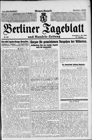 Berliner Tageblatt und Handels-Zeitung vom 05.05.1923