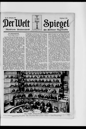 Berliner Tageblatt und Handels-Zeitung vom 06.05.1923