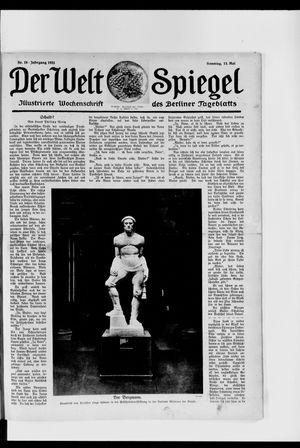 Berliner Tageblatt und Handels-Zeitung vom 13.05.1923