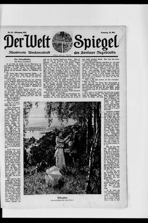 Berliner Tageblatt und Handels-Zeitung vom 20.05.1923