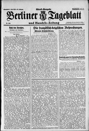 Berliner Tageblatt und Handels-Zeitung vom 02.06.1923