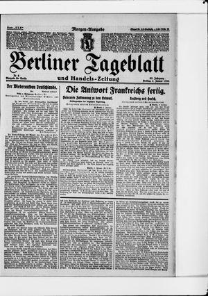 Berliner Tageblatt und Handels-Zeitung on Jan 4, 1924