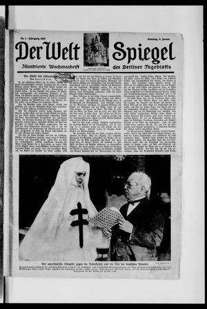 Berliner Tageblatt und Handels-Zeitung vom 06.01.1924