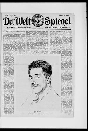 Berliner Tageblatt und Handels-Zeitung vom 20.01.1924