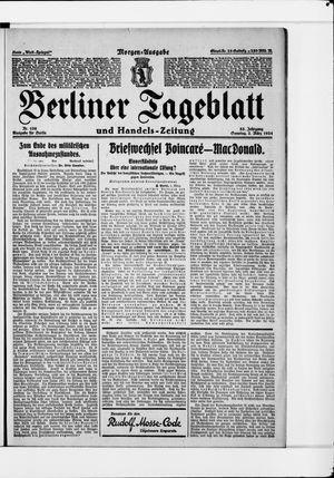 Berliner Tageblatt und Handels-Zeitung vom 02.03.1924