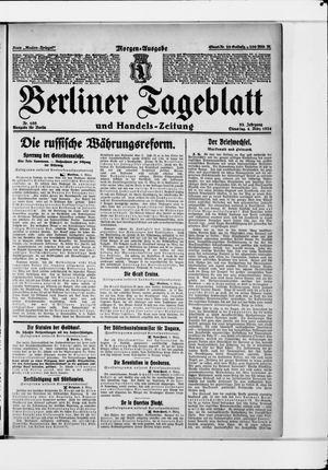 Berliner Tageblatt und Handels-Zeitung vom 04.03.1924