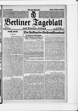 Berliner Tageblatt und Handels-Zeitung vom 06.03.1924