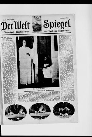 Berliner Tageblatt und Handels-Zeitung vom 09.03.1924