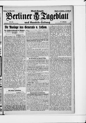 Berliner Tageblatt und Handels-Zeitung vom 10.03.1924