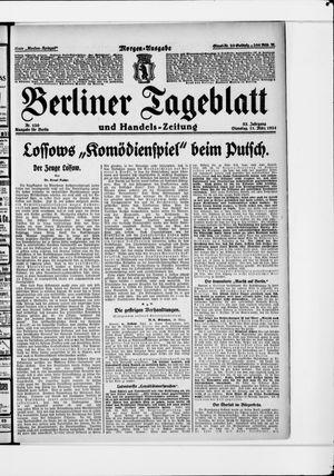 Berliner Tageblatt und Handels-Zeitung vom 11.03.1924