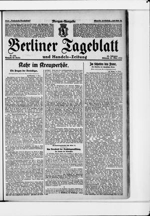 Berliner Tageblatt und Handels-Zeitung vom 12.03.1924