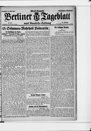Berliner Tageblatt und Handels-Zeitung vom 15.03.1924