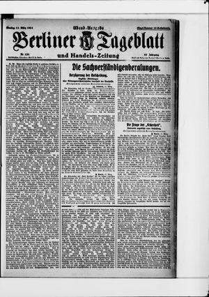 Berliner Tageblatt und Handels-Zeitung vom 17.03.1924