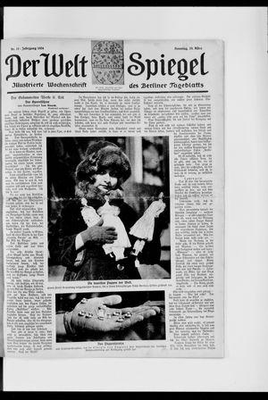 Berliner Tageblatt und Handels-Zeitung vom 23.03.1924