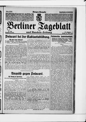 Berliner Tageblatt und Handels-Zeitung vom 28.03.1924