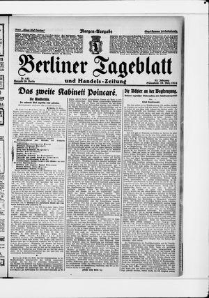 Berliner Tageblatt und Handels-Zeitung vom 29.03.1924