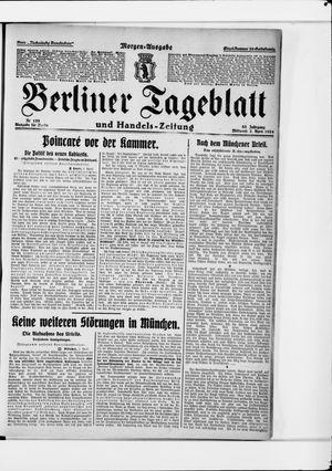 Berliner Tageblatt und Handels-Zeitung vom 02.04.1924