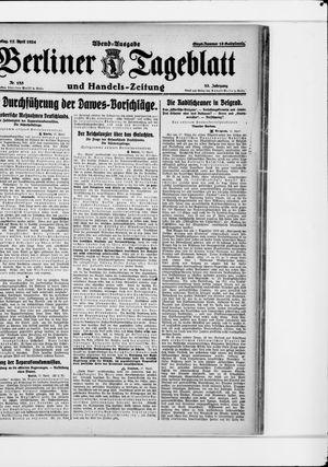 Berliner Tageblatt und Handels-Zeitung vom 17.04.1924
