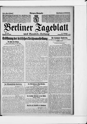Berliner Tageblatt und Handels-Zeitung vom 24.04.1924