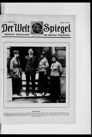 Berliner Tageblatt und Handels-Zeitung vom 27.04.1924