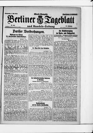Berliner Tageblatt und Handels-Zeitung vom 01.05.1924