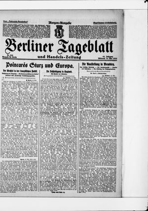 Berliner Tageblatt und Handels-Zeitung vom 14.05.1924