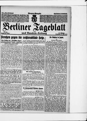 Berliner Tageblatt und Handels-Zeitung vom 17.05.1924