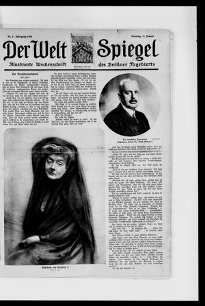 Berliner Tageblatt und Handels-Zeitung vom 11.01.1925