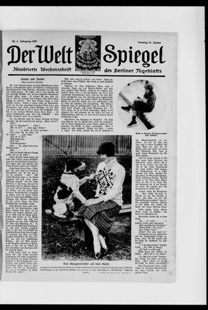 Berliner Tageblatt und Handels-Zeitung vom 25.01.1925
