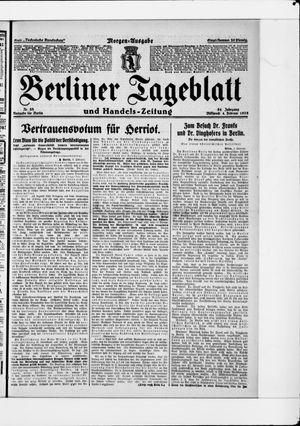 Berliner Tageblatt und Handels-Zeitung vom 04.02.1925