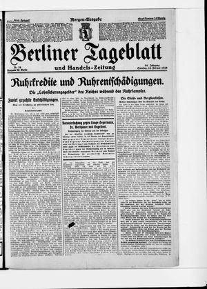 Berliner Tageblatt und Handels-Zeitung vom 15.02.1925