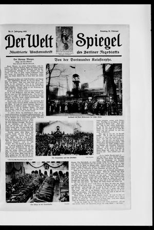 Berliner Tageblatt und Handels-Zeitung vom 22.02.1925