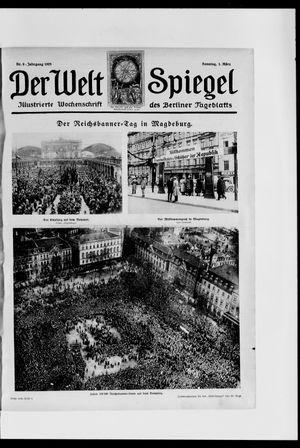 Berliner Tageblatt und Handels-Zeitung vom 01.03.1925