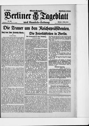 Berliner Tageblatt und Handels-Zeitung vom 02.03.1925