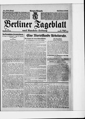 Berliner Tageblatt und Handels-Zeitung vom 03.03.1925