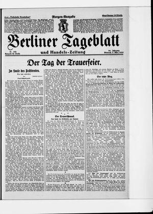Berliner Tageblatt und Handels-Zeitung on Mar 4, 1925