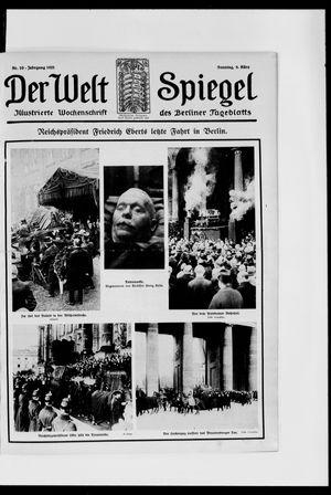 Berliner Tageblatt und Handels-Zeitung vom 08.03.1925