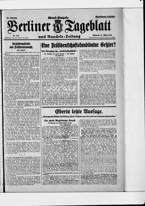 Berliner Tageblatt und Handels-Zeitung on Mar 11, 1925