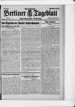 Berliner Tageblatt und Handels-Zeitung on Mar 17, 1925