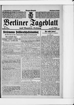 Berliner Tageblatt und Handels-Zeitung on Mar 21, 1925
